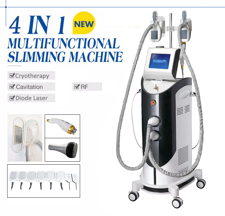 Body Slimming Cryolipolysis Machine With 8.4 Inch Color Touch Screen 400KPA