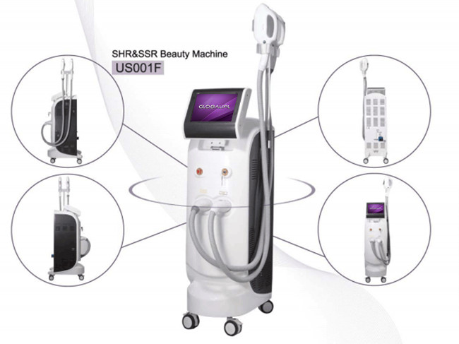 Shr Ipl E Light Hair Removal Machine Pain Free / Fast Shot Hair Removal Machine
